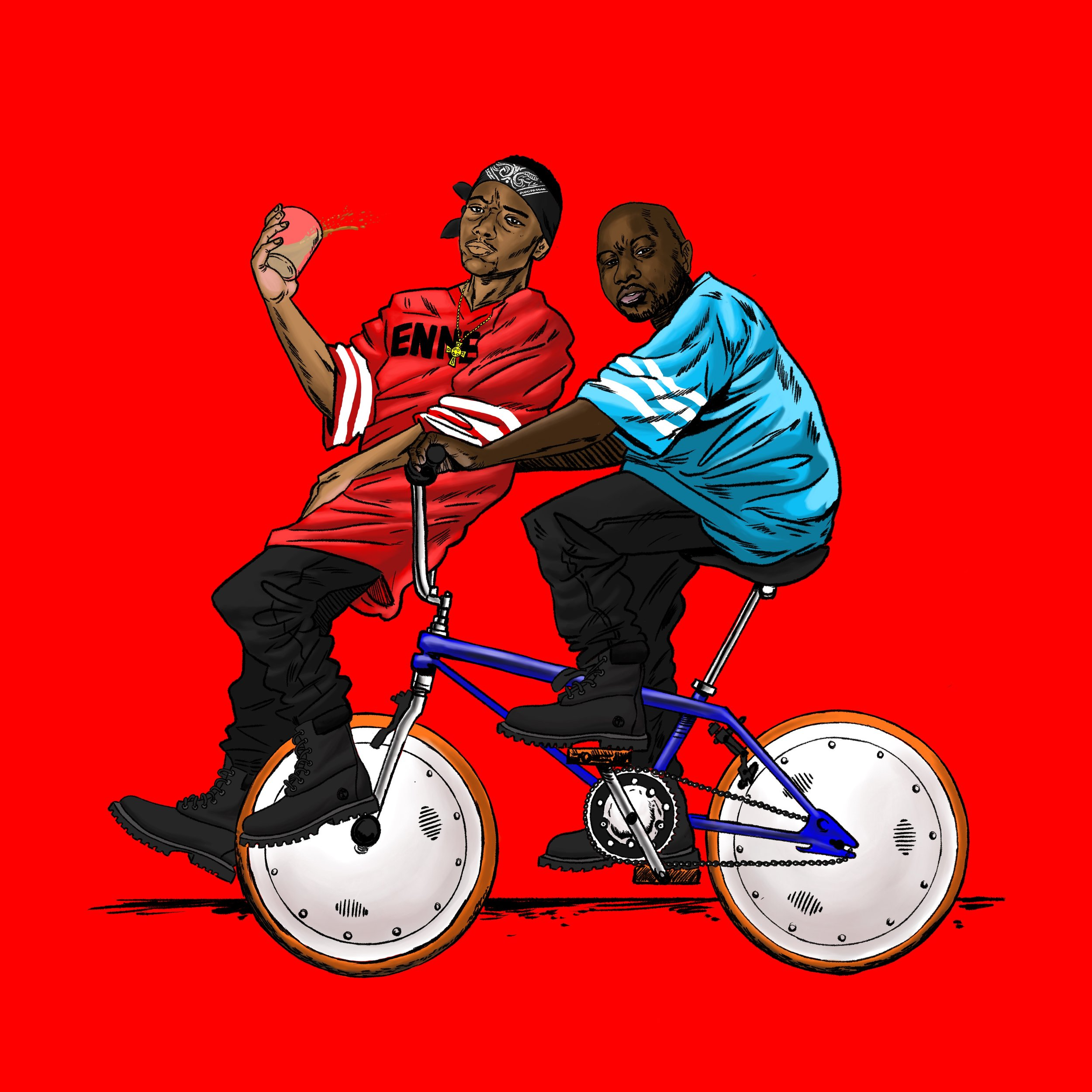 Mobb Deep on a BMX
