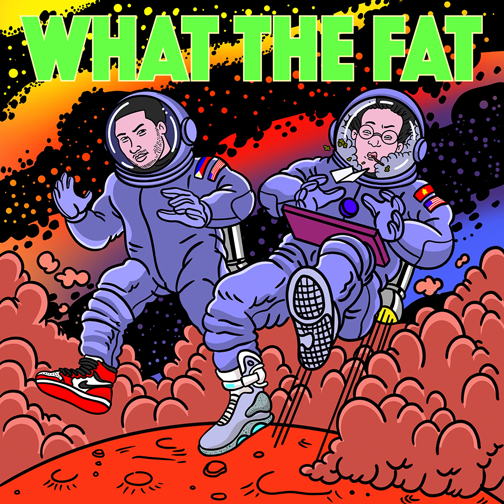 "Cover Art for Fat Panda Tuan ""What The Fat"""