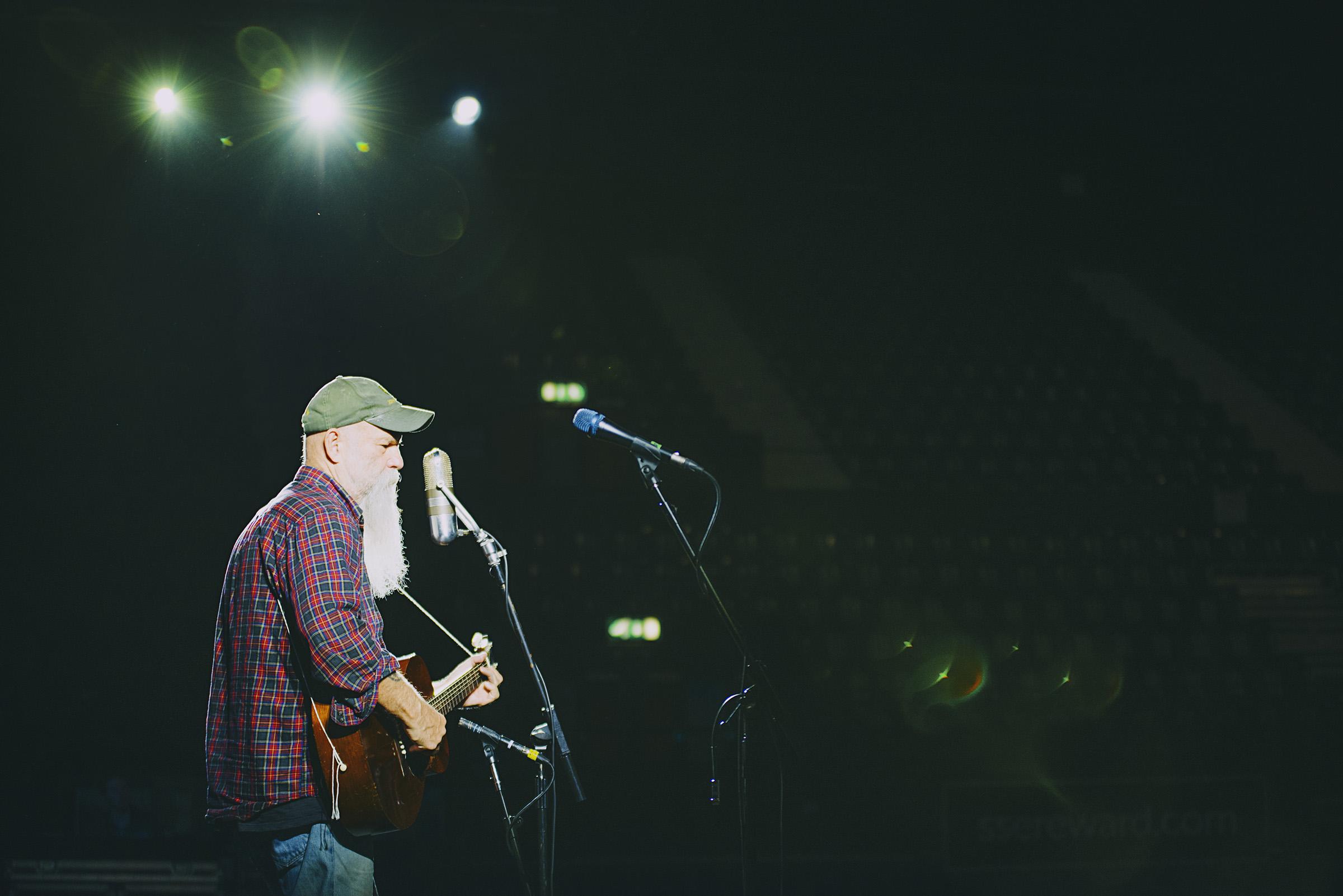 Seasick Steve, SSE Arena Wembley 2016