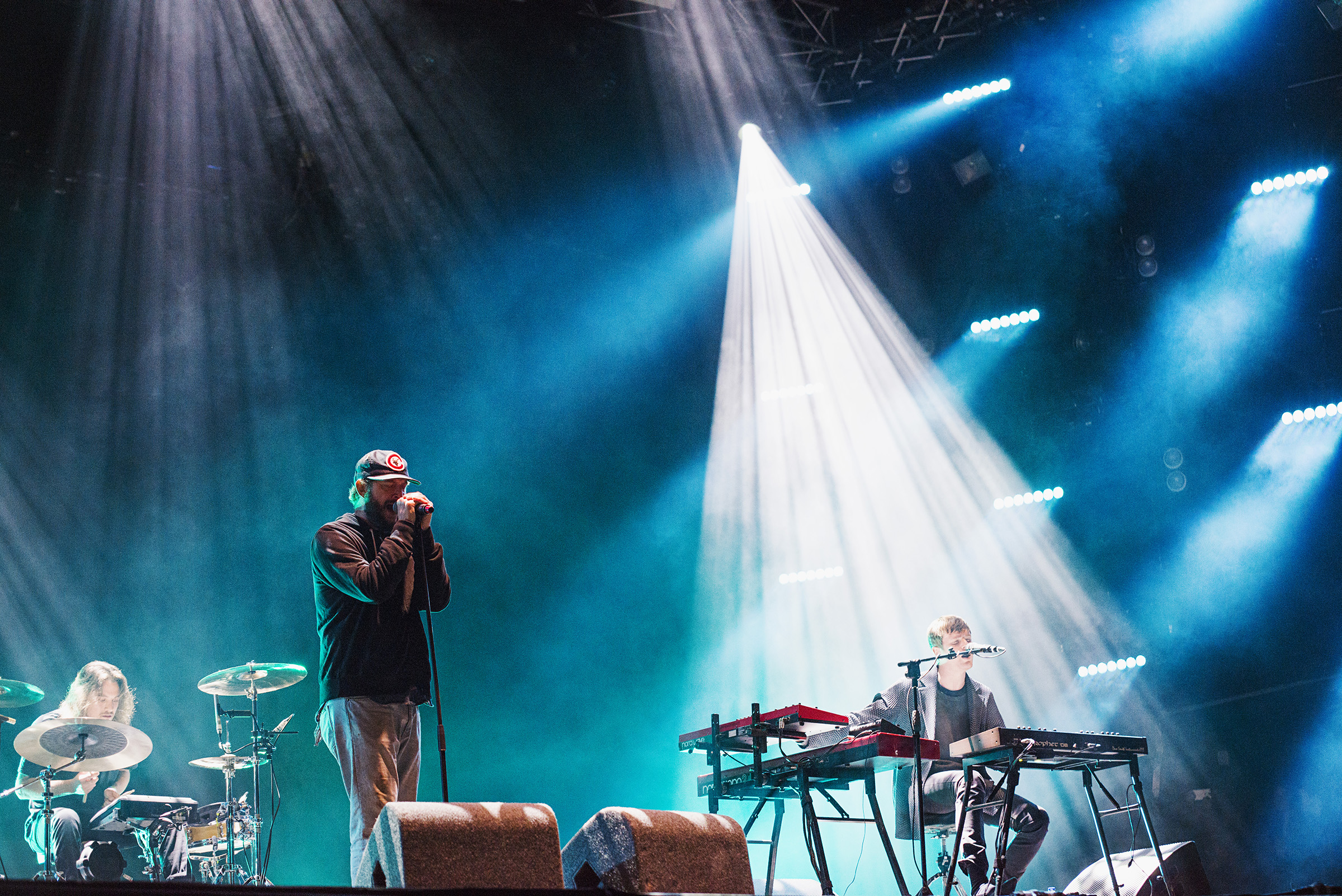 James Blake & Justin Vernon, Glastonbury 2016