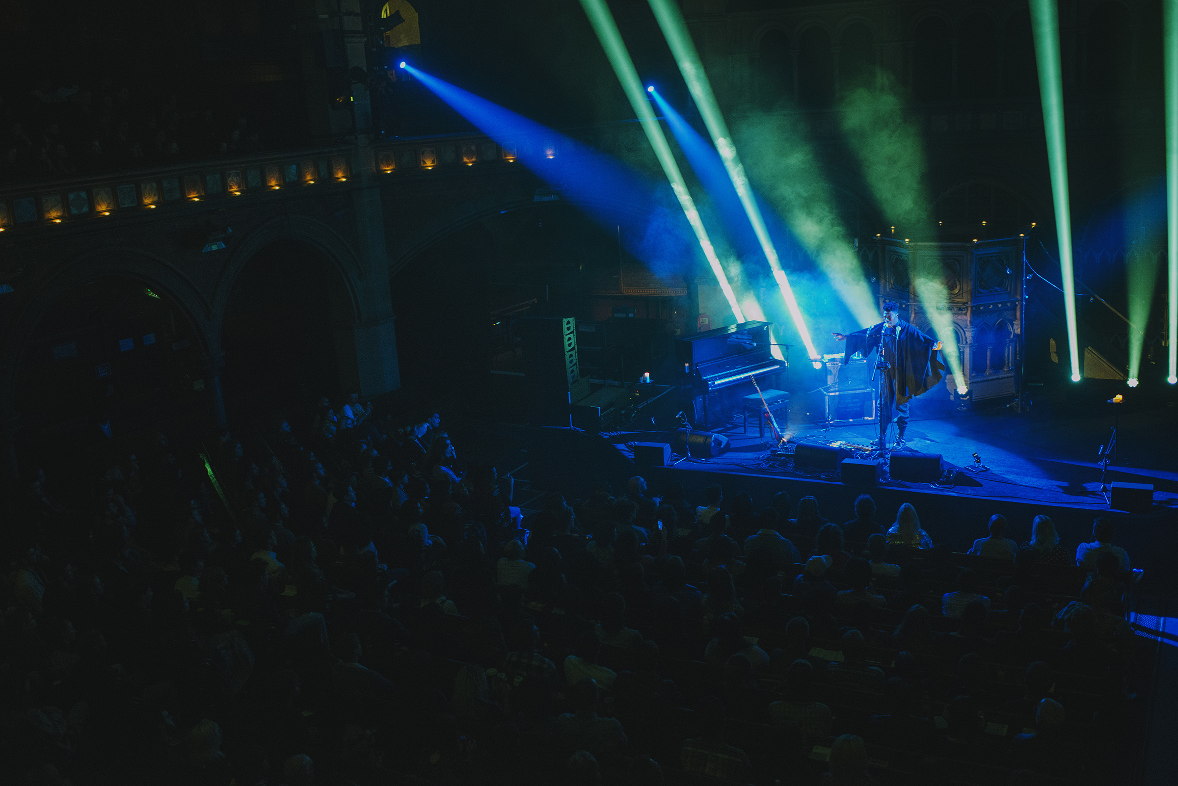 Moses Sumney, Union Chapel London 2017