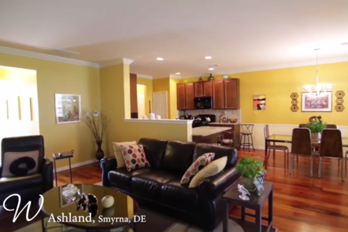 The Iris  offers the convenience of one-level living with 2 Bedrooms, 2 Full Baths, 1 car Garage and spacious Owner's Suite.  The Iris is available at our 55+ community, Ashland   located in Smyrna, DE.