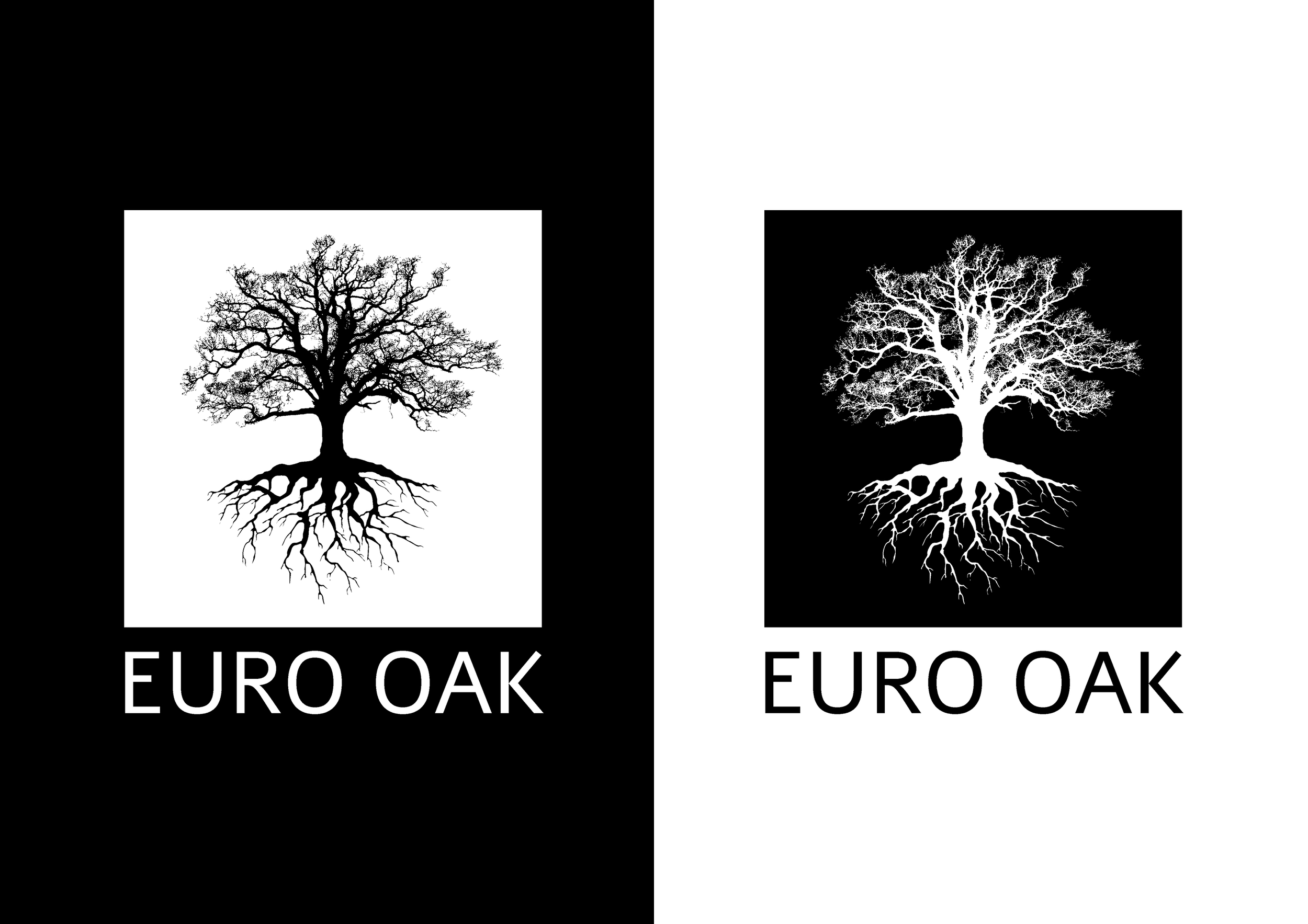 Euro Oak Logo Design 2016