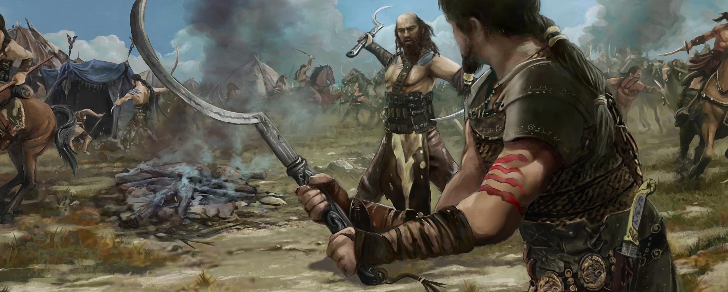 dothraki_battle