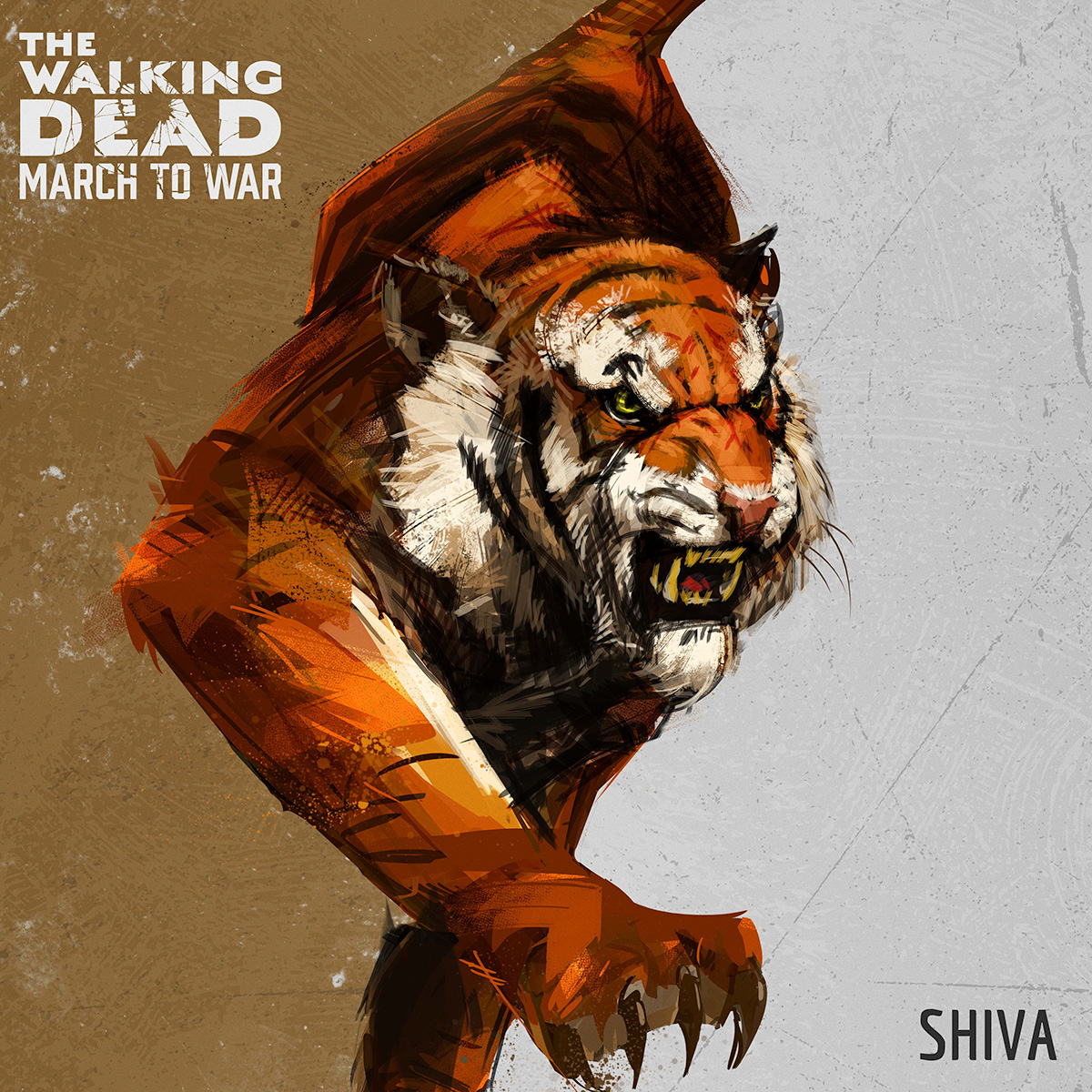 Shiva - The fiercest beast in D.C., she is a deadly attacker. Raiding parties led by Shiva march faster and do more damage.
