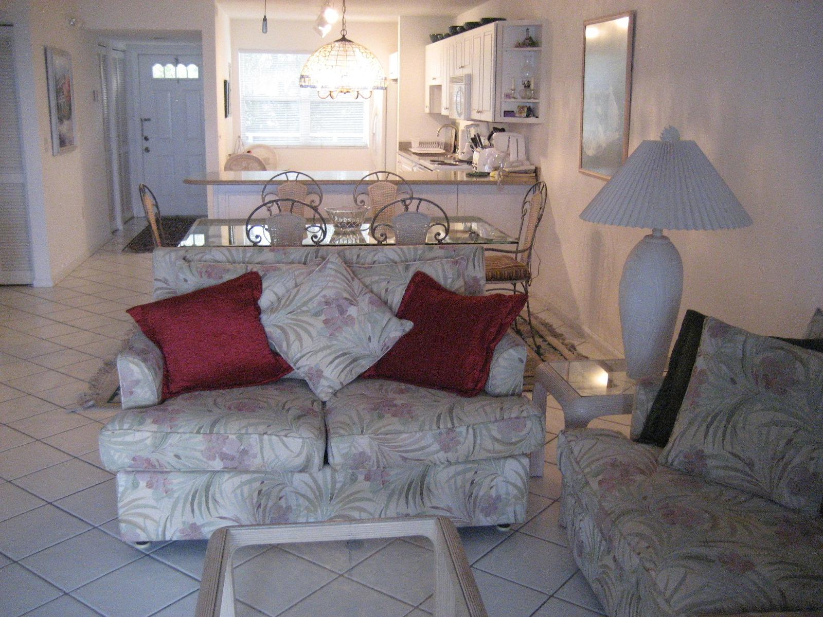 La Brisa Unit 301S Living Room Looking Into Unit