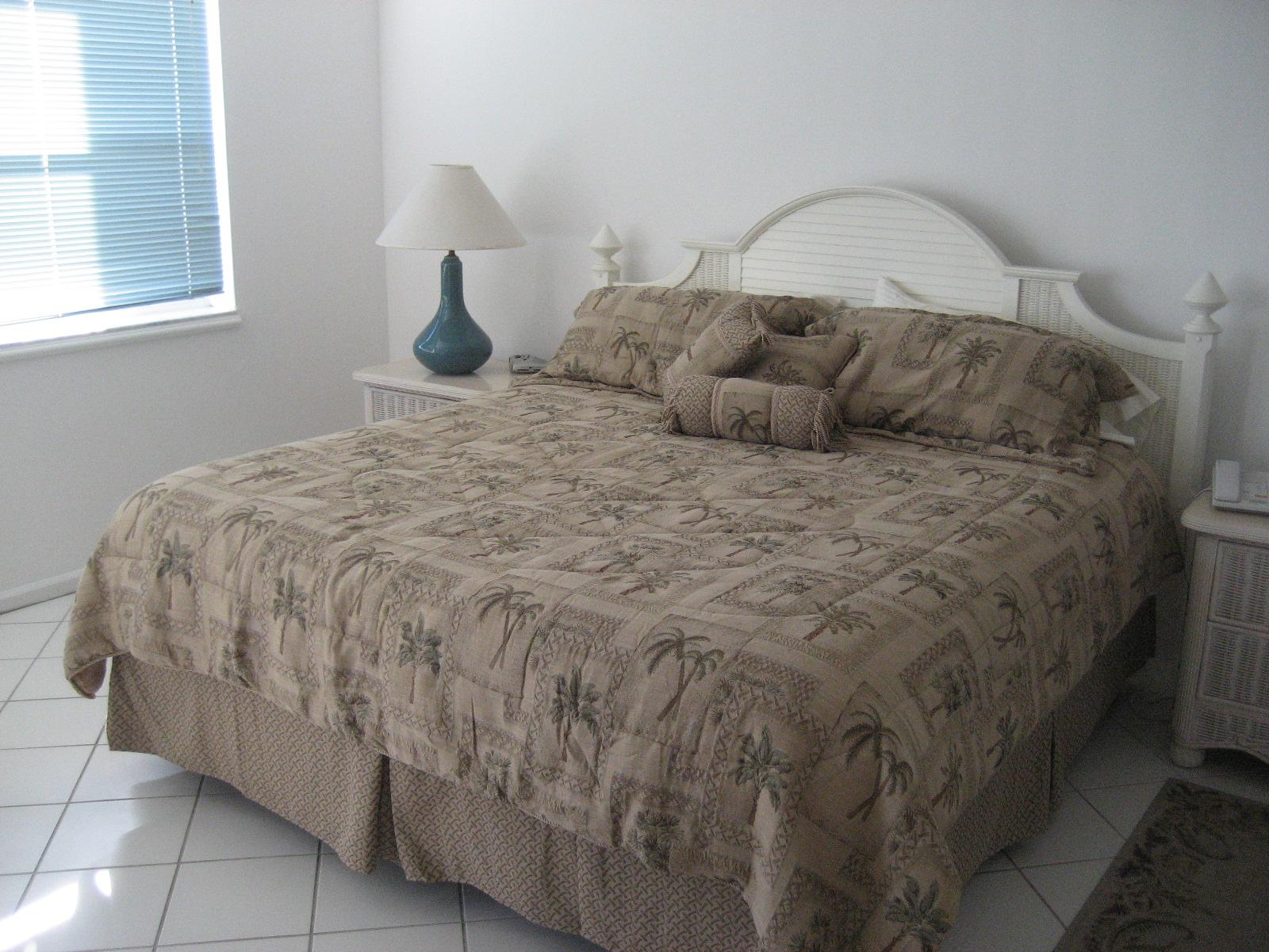 La Brisa Unit 301S Master Bedroom