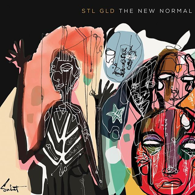This new @stlgld album is one of my proudest moments in music. My brother @moepope took my instrumentals and masterfully wrote down his love, pain, anger and hope. My brothers GLD, I love you. Once again, I'm humbled by the immense talent that lent a hand in the making of this album, you all helped to bring this album to life. I truly cannot wait to give this album to the world tonight at midnight and to celebrate it tomorrow night at Oberon. I want everyone there. This is The New Normal. #STLGLDTheNewNormal #STLGLD #ArcProducedThat