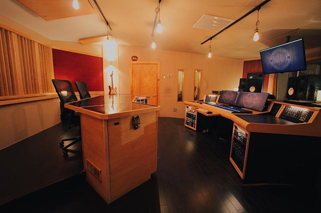 Studio A at @thebridgesoundandstage looking good going into its 10th year. Here's to another decade of making great music in the Cambridge/Boston area. #TheBridgeSoundAndStage