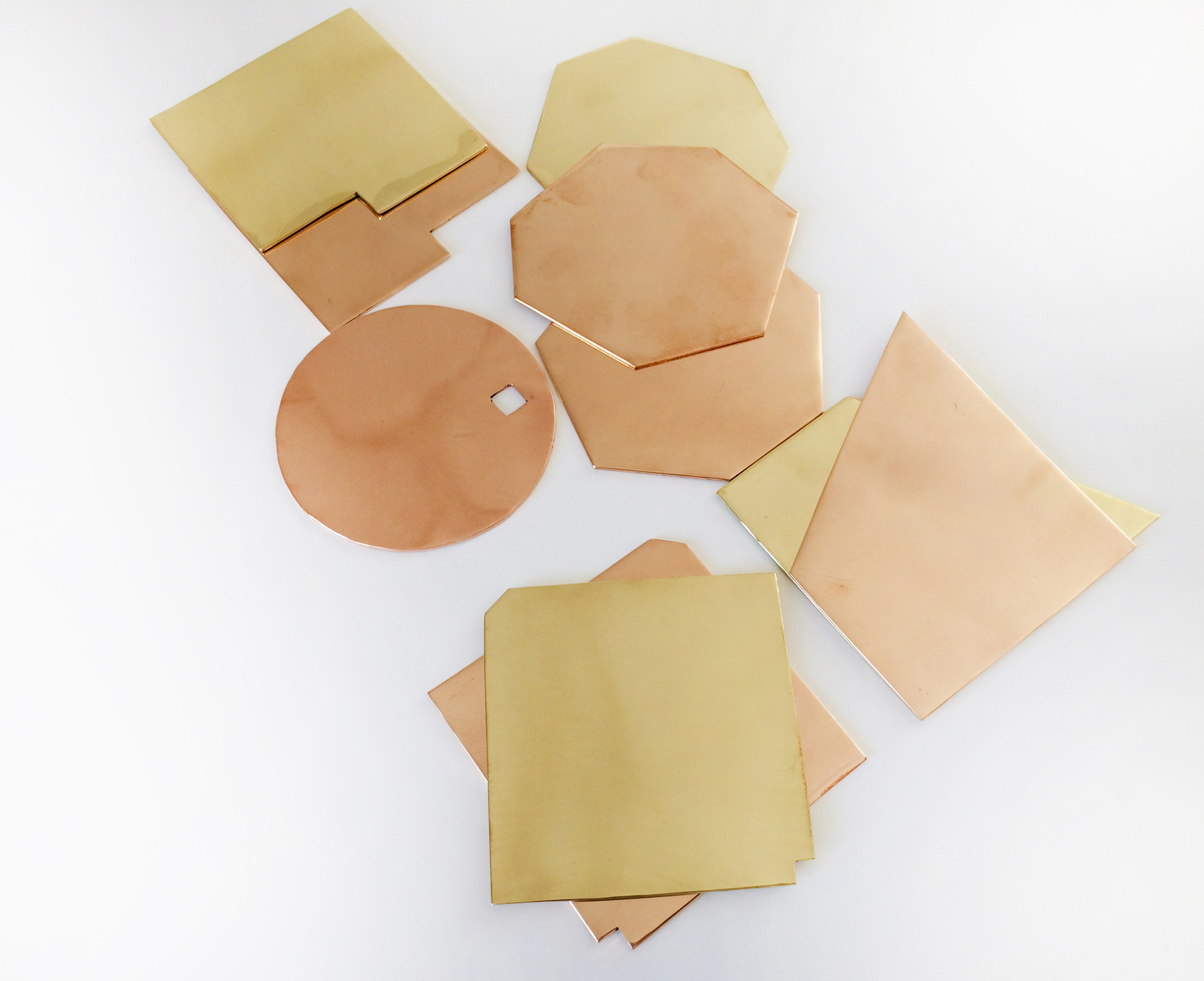 Brass and Copper Shape coaters