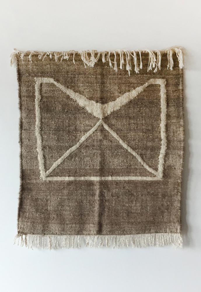 Symbol Rug from drawing plus woven collab