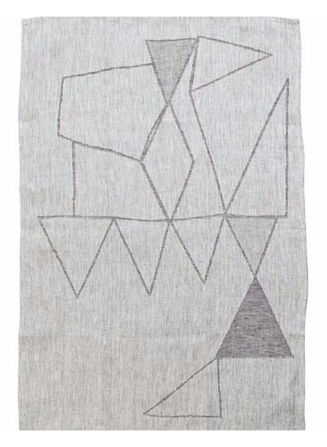 Woven Towel with Hawkins New York