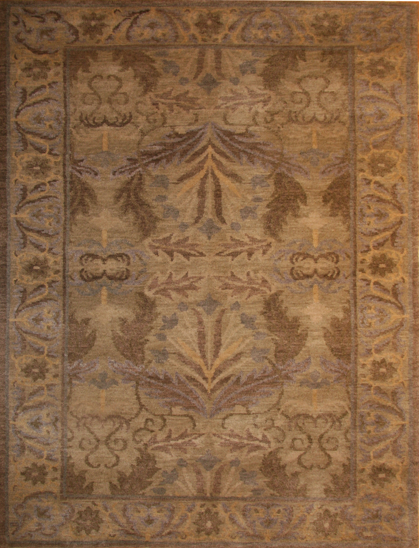Leaves Vines Tibetan Area Rugs I Tibetan Rugs Carpets I Innerasia Rugs