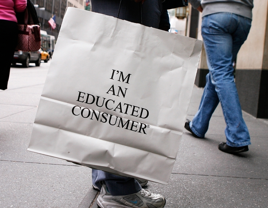 1.) Understand the power you have as a consumer -