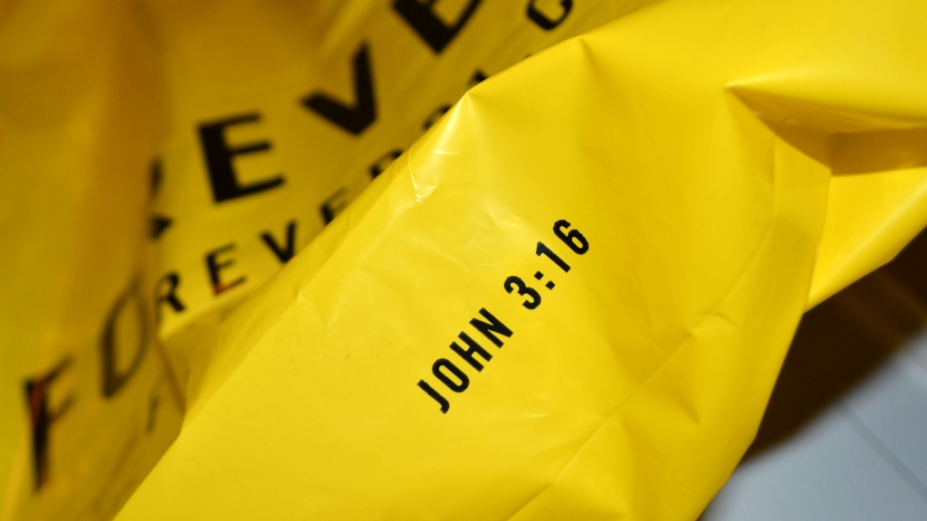 - 5. While we're on the topic of hypocrisy, who else has noticed this Bible verse on the bottom of a Forever 21 bag?