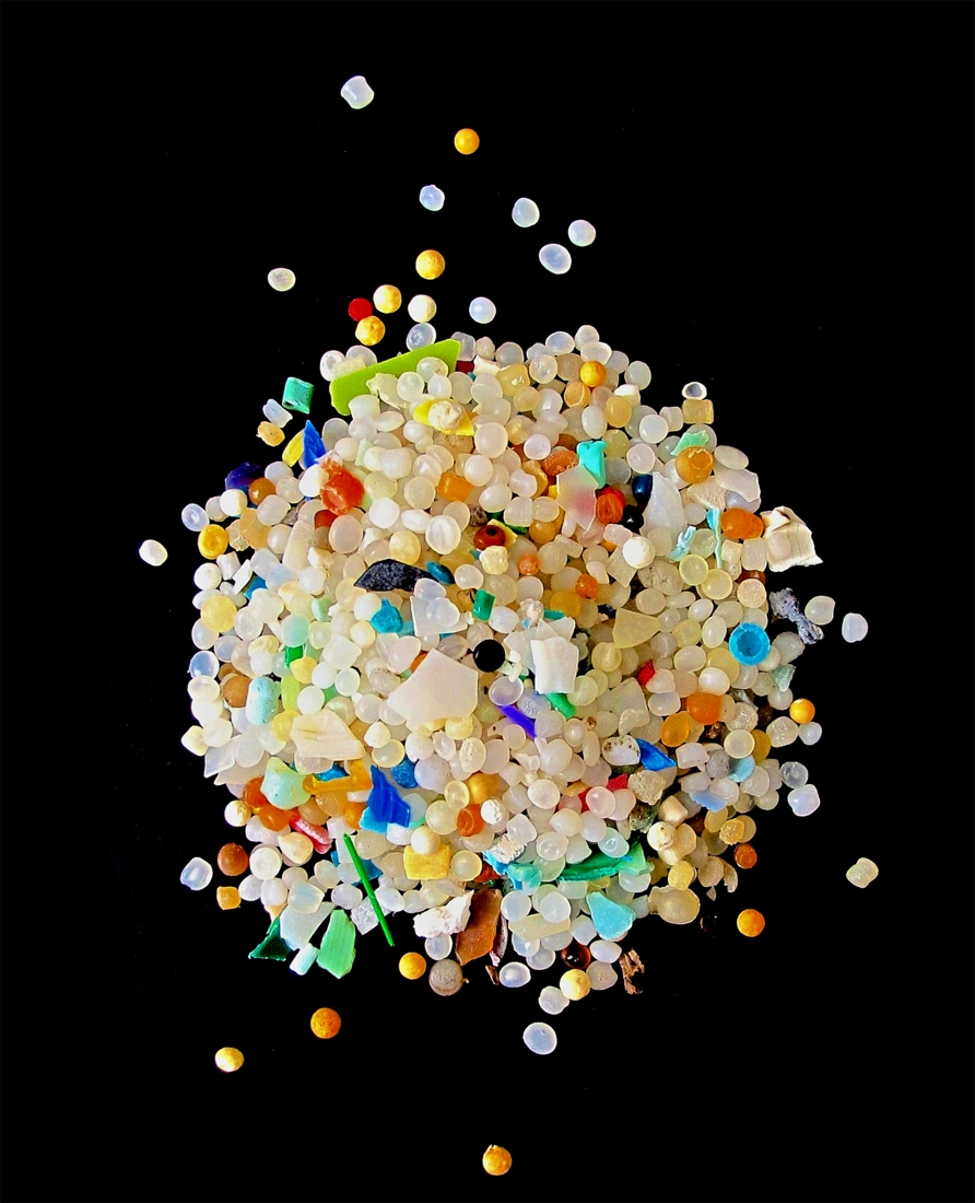 A Pile of Cosmetic Micro-Beads