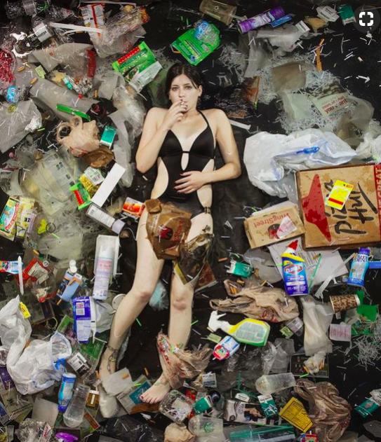 """Dana. """"7 Days of Garbage"""" - Greg Segal"""