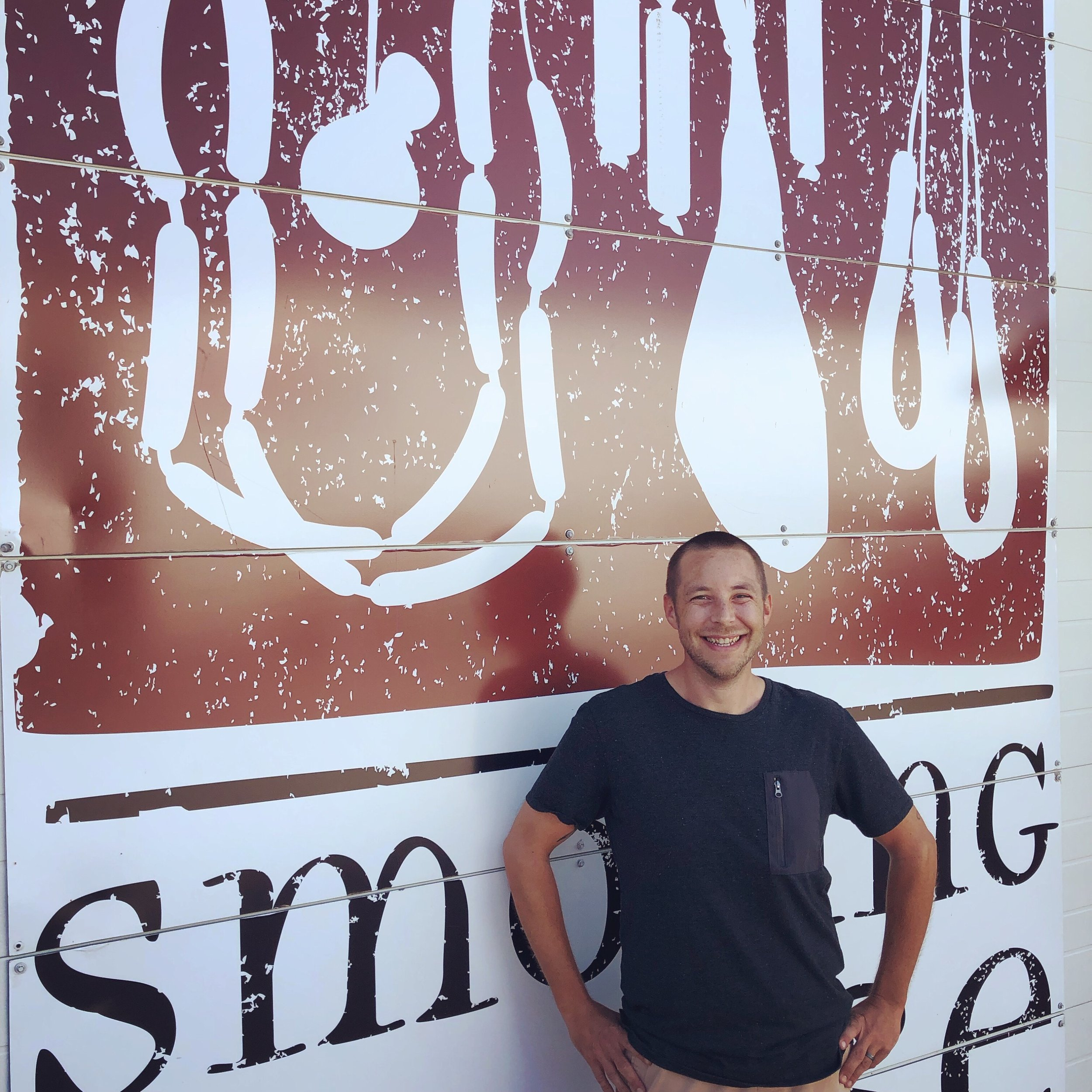 Help us welcome Josh to the Smoking Goose sales team! Which meat treat is his favorite? The City Ham or Jowl Bacon he fries up before cycling to work are contenders, but a national award winner claims the top slot.