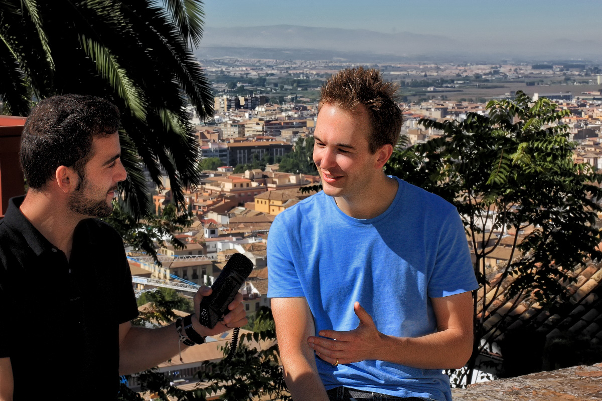 35/ Interview in Granada