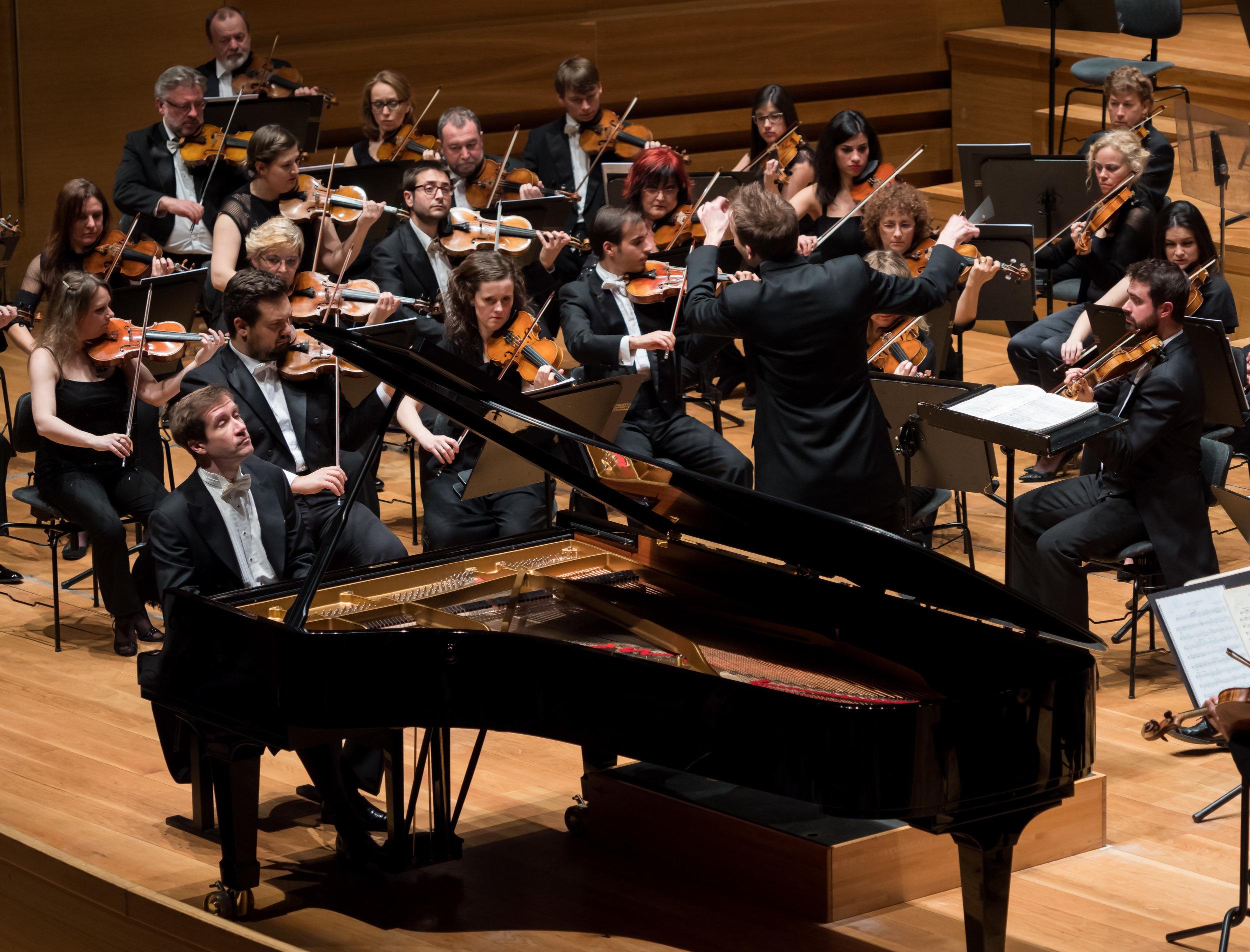13/ Performing with Nikolai Lugansky