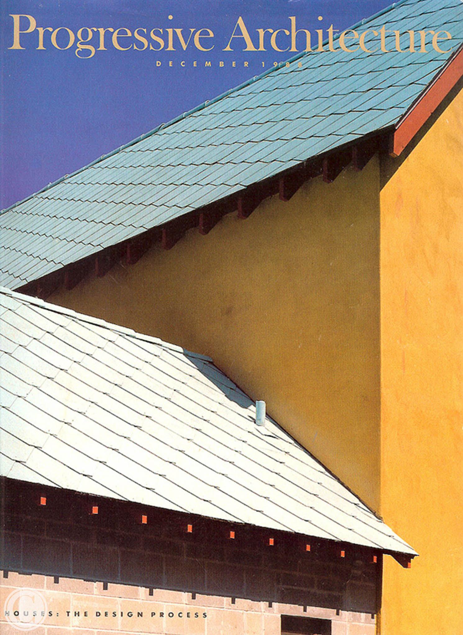 Progressive Architecture Steven Harris Cornelius Construction builder