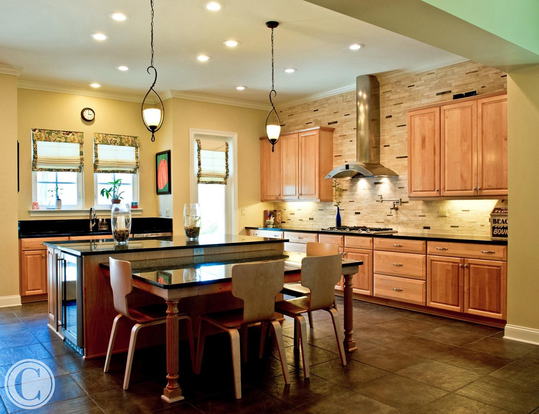 Large Designer Kitchen, Glen Kernan, Jacksonville, FL, ©Mark Sain Wilson Photography