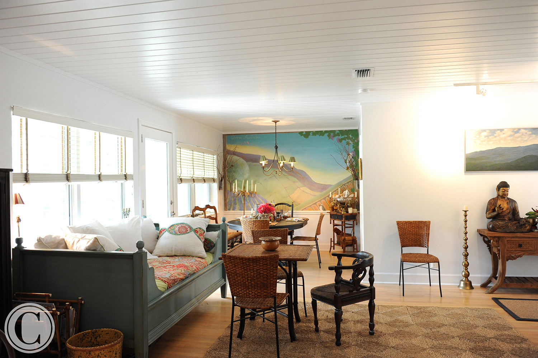 Atlantic Beach Home Renovation, Dining Room, ©Mark Sain Wilson Photography