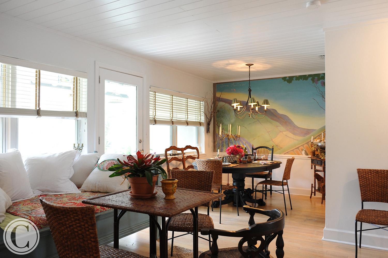 Atlantic Beach Home Renovation, Family/Dining Room, ©Mark Sain Wilson Photography