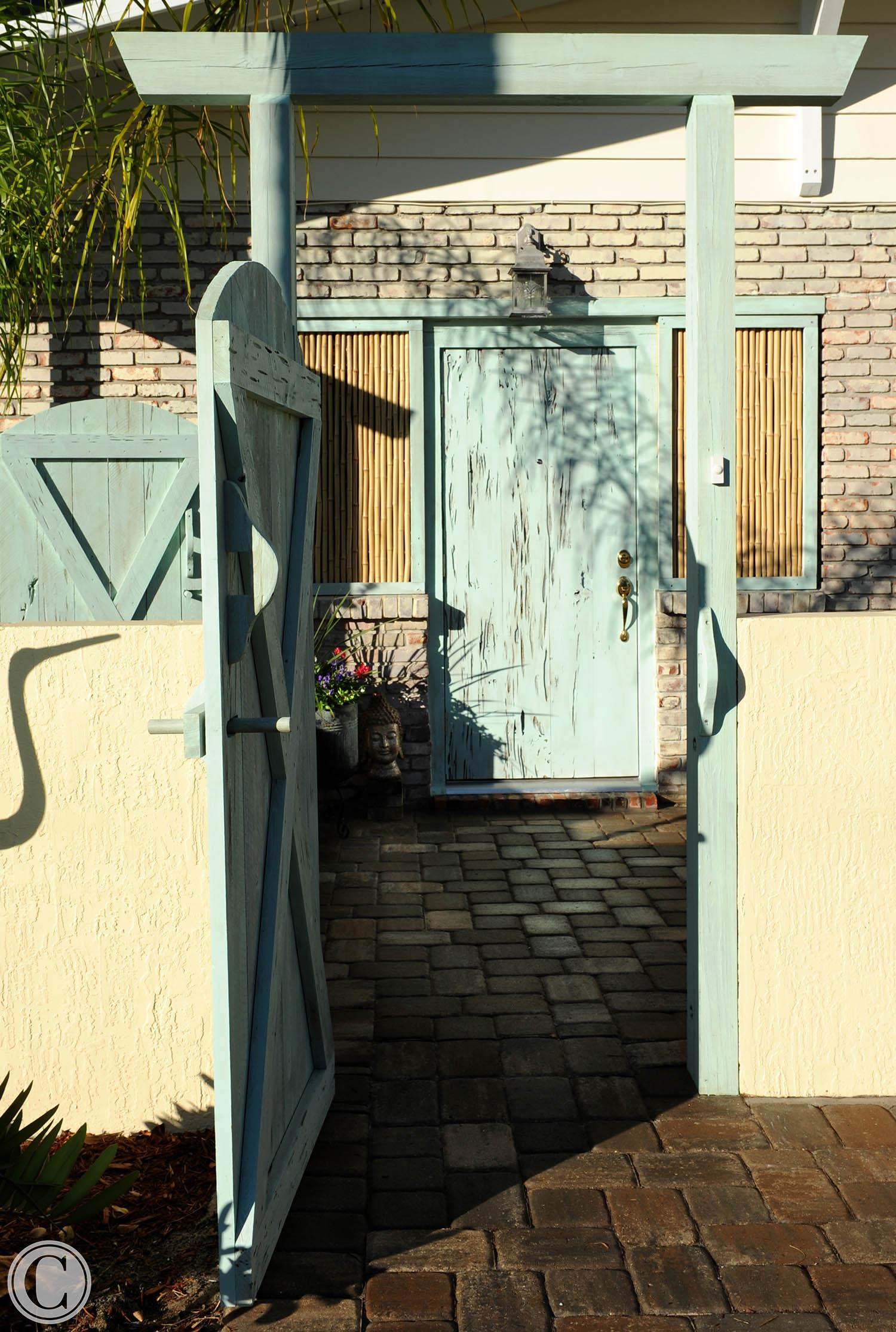 Front Gate, ©Mark Sain Wilson Photography