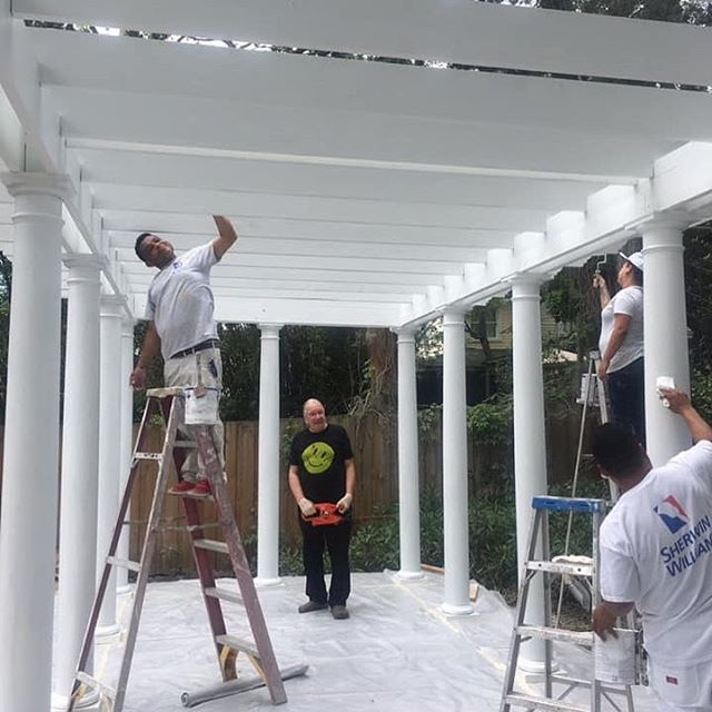 The Operatic Garden Folly is coming along! This fabulous home is on the RAP Home Tour April 27, looking forward to seeing it all come together 💖🛠💖 . #builder #homerenovation #jacksonville #contractor #riversideavondale #ilovemyclients