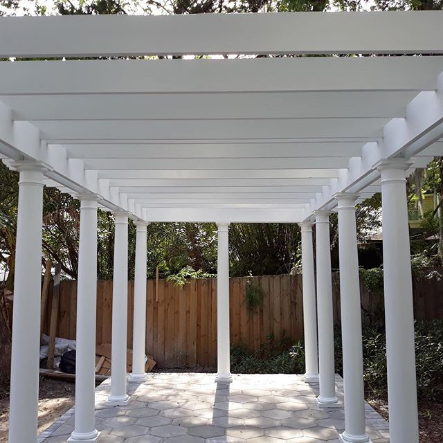 More shots of the Operatic Garden Folly - we are having so much fun on this wonderful project 🌞 thank you Martin for the pictures! #builder #jacksonville #atlanticbeach #riversideavondale #ilovemyclients