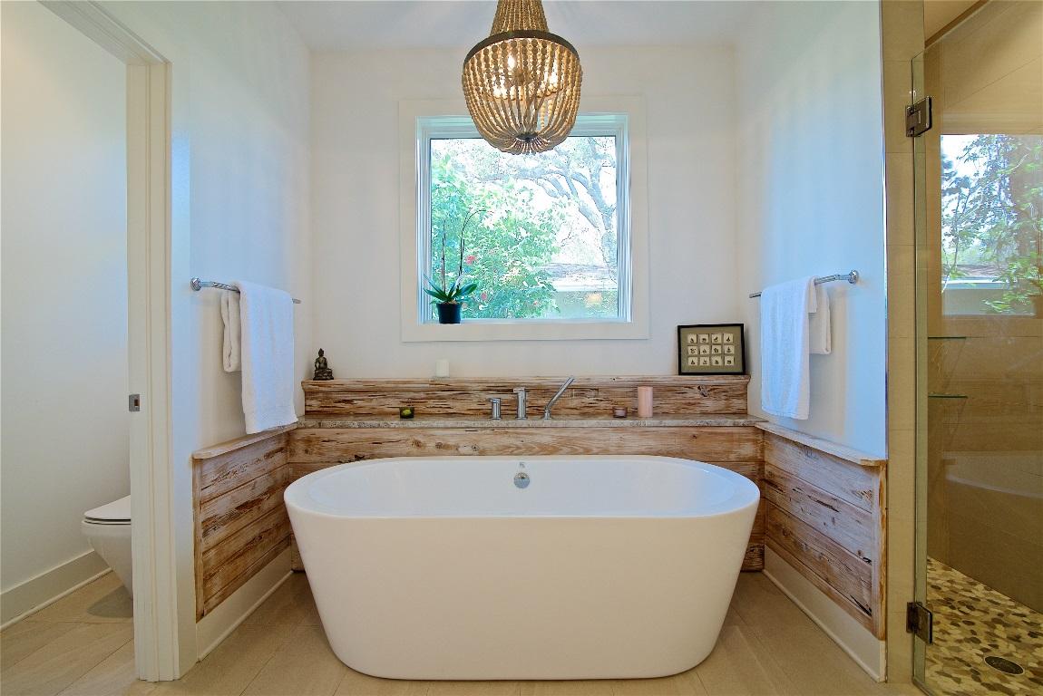 Design-Build Home Addition, Master Bathroom Soaking Tub, Atlantic Beach, FL | Cornelius Construction Company