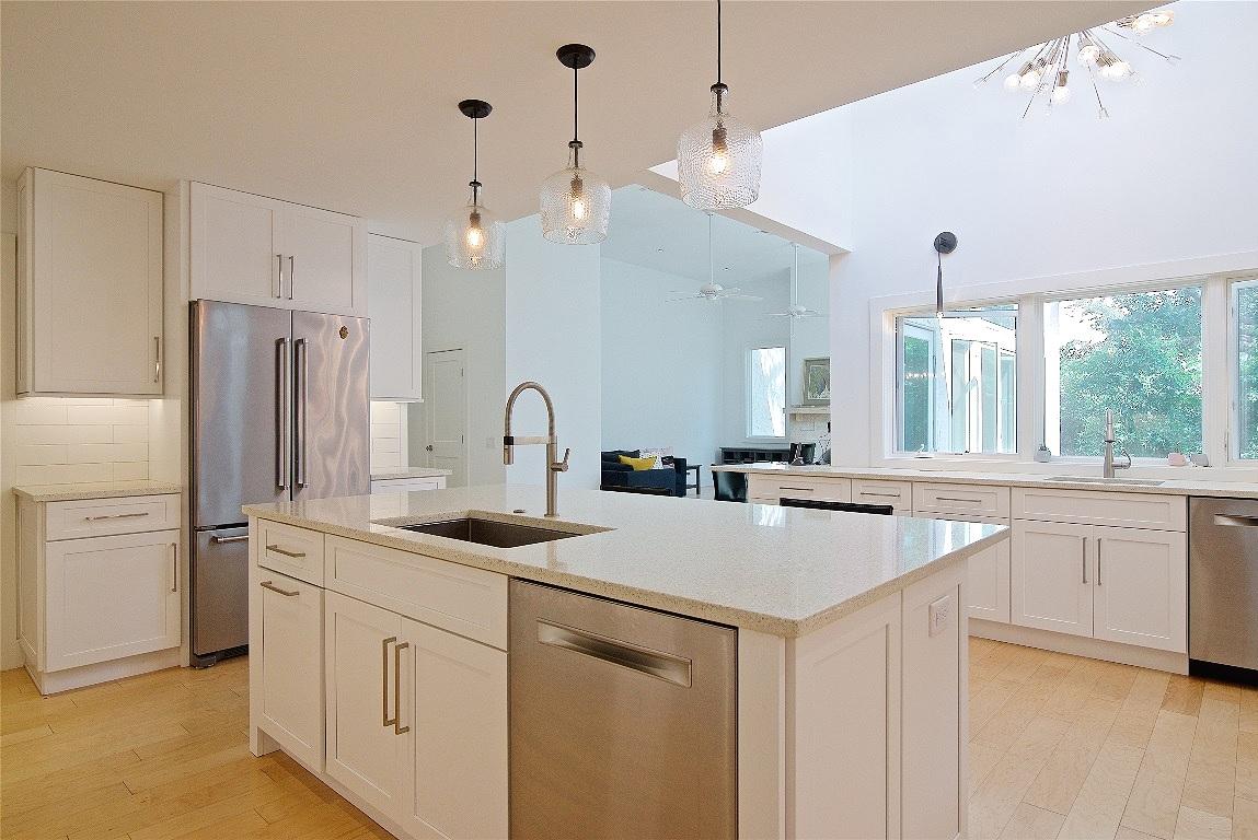 Kitchen Renovation, Screen Porch Enclosure with Raised Roof, Atlantic Beach, FL | Cornelius Construction Company