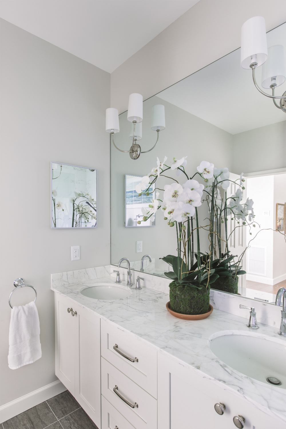 Bathroom Renovation, Oceanwalk, Atlantic Beach, FL | Cornelius Construction Company © Cristina Danielle Photography
