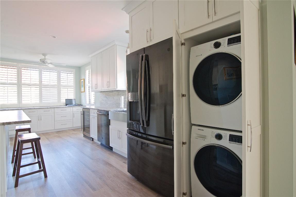 Hidden Washer/Dryer, Kitchen Renovation, Sevilla Condominiums, Atlantic Beach, FL | Cornelius Construction Company