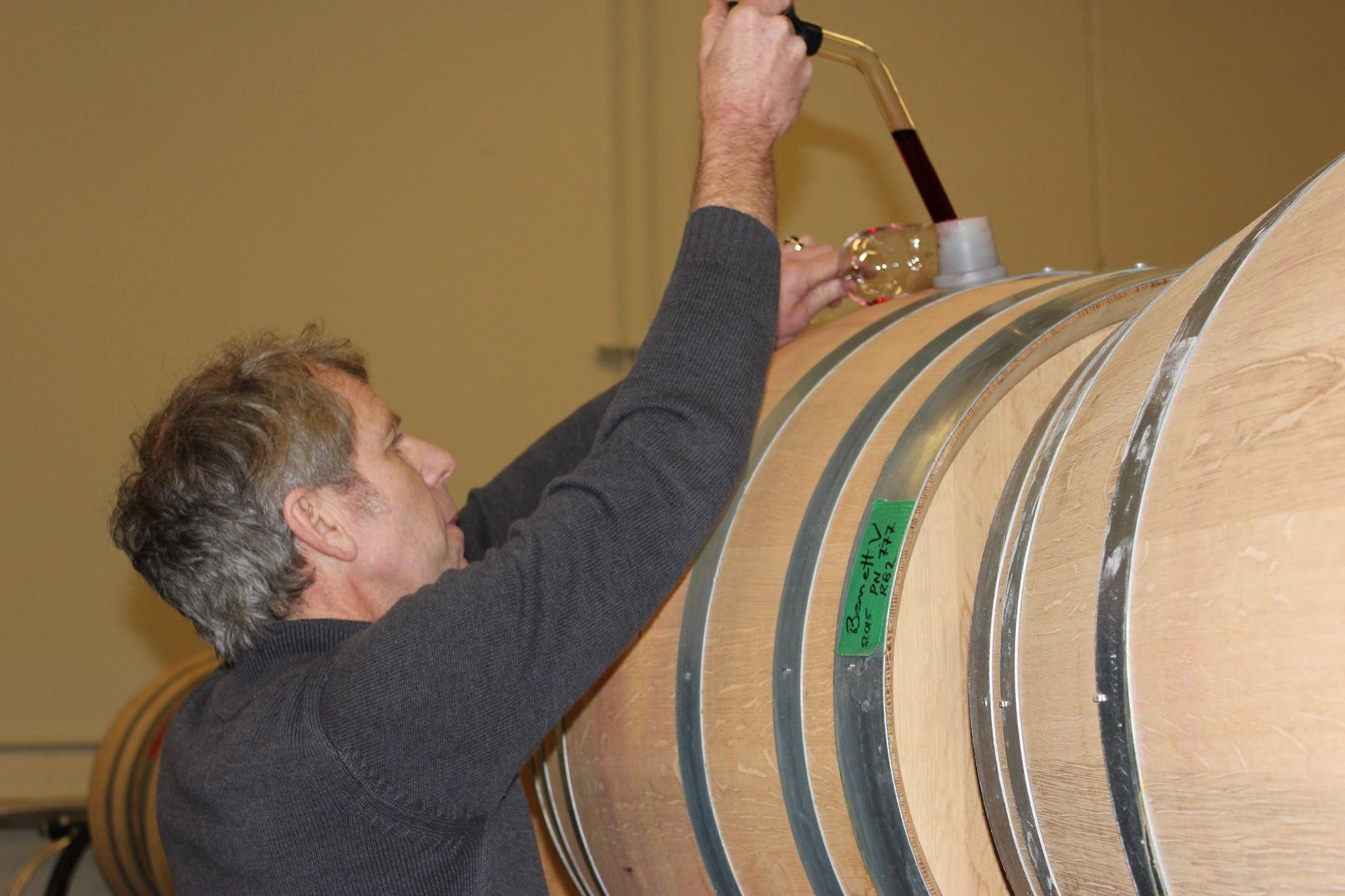 Our Pinot Noirs are aged in carefully selected French oak barrels