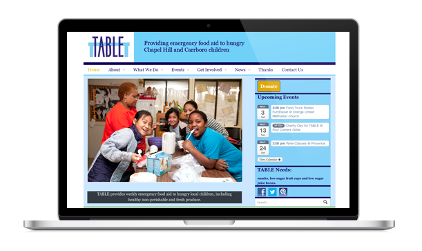 The original TABLE website