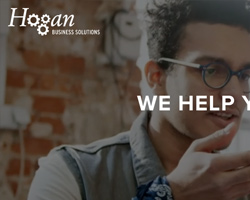 Hogan Business Solutions website