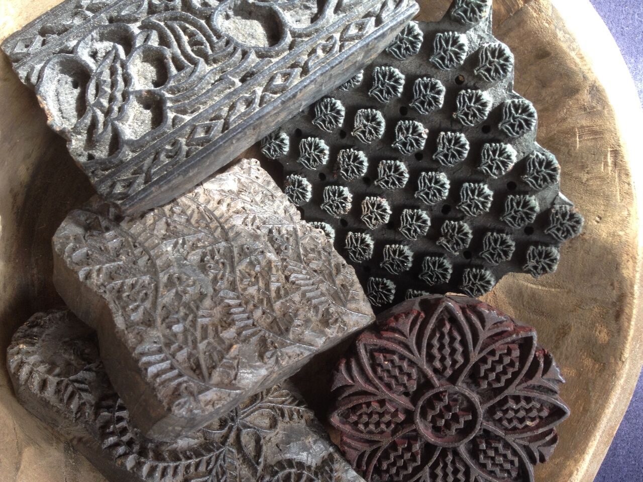 Indian Print Blocks