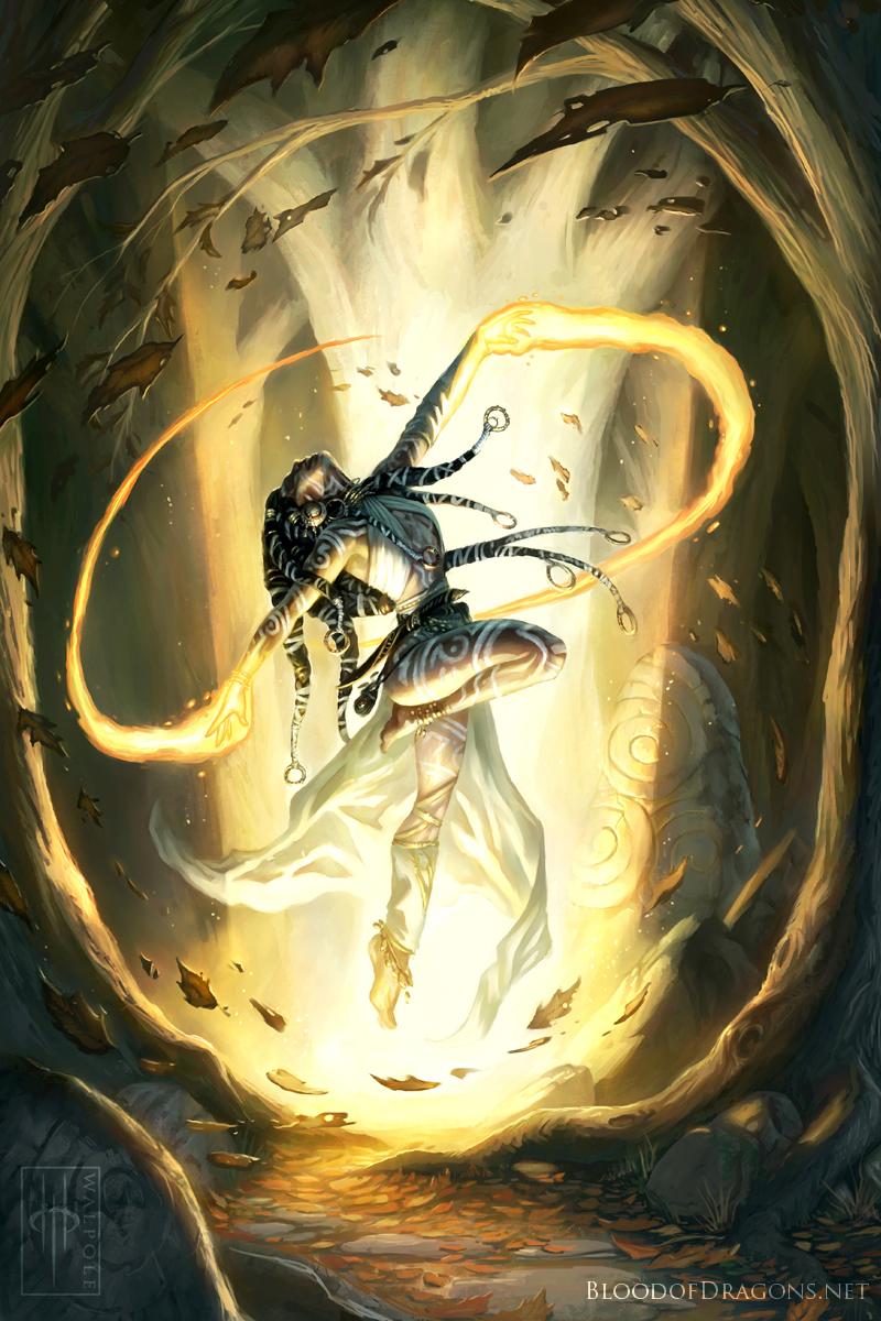 Lyssa, the Firedancer