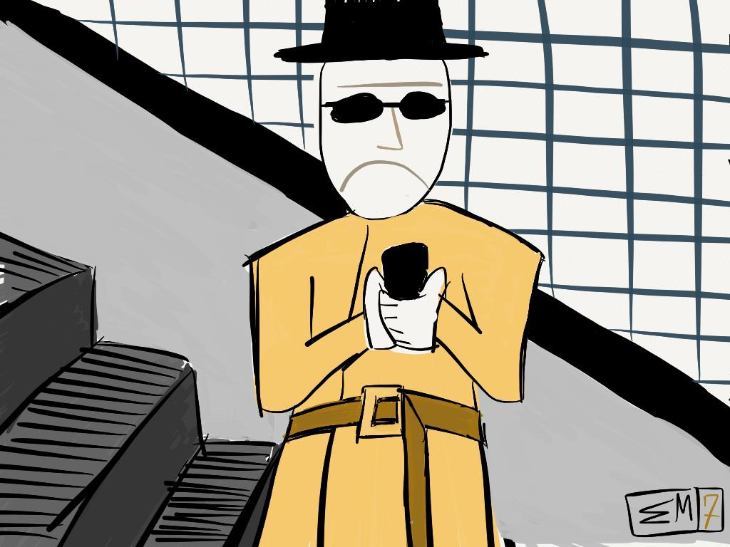 7-The Invisible Man