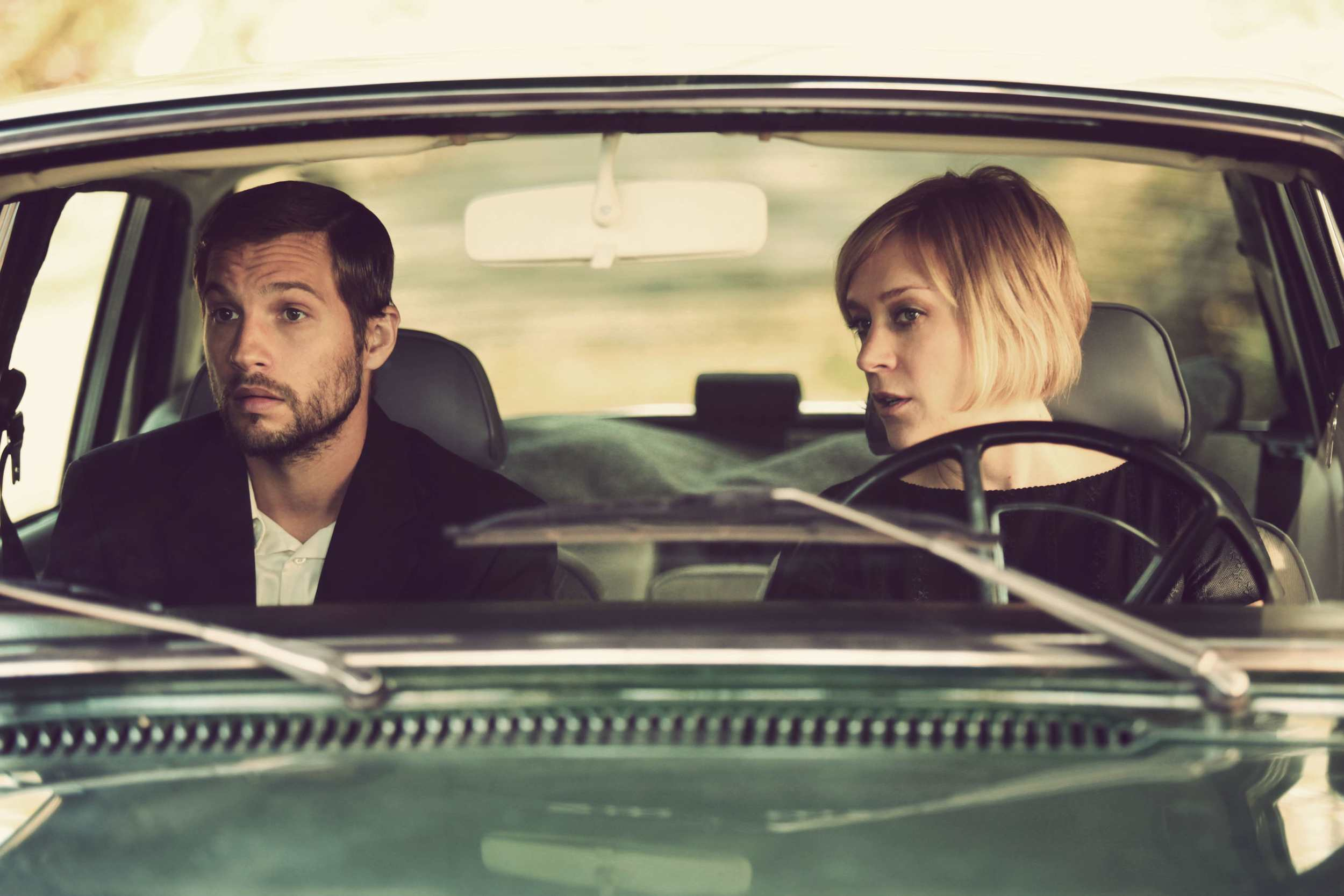 Still 1: Stephen (Logan Marshall Green) and Ali (Chloë Sevigny) in BACK