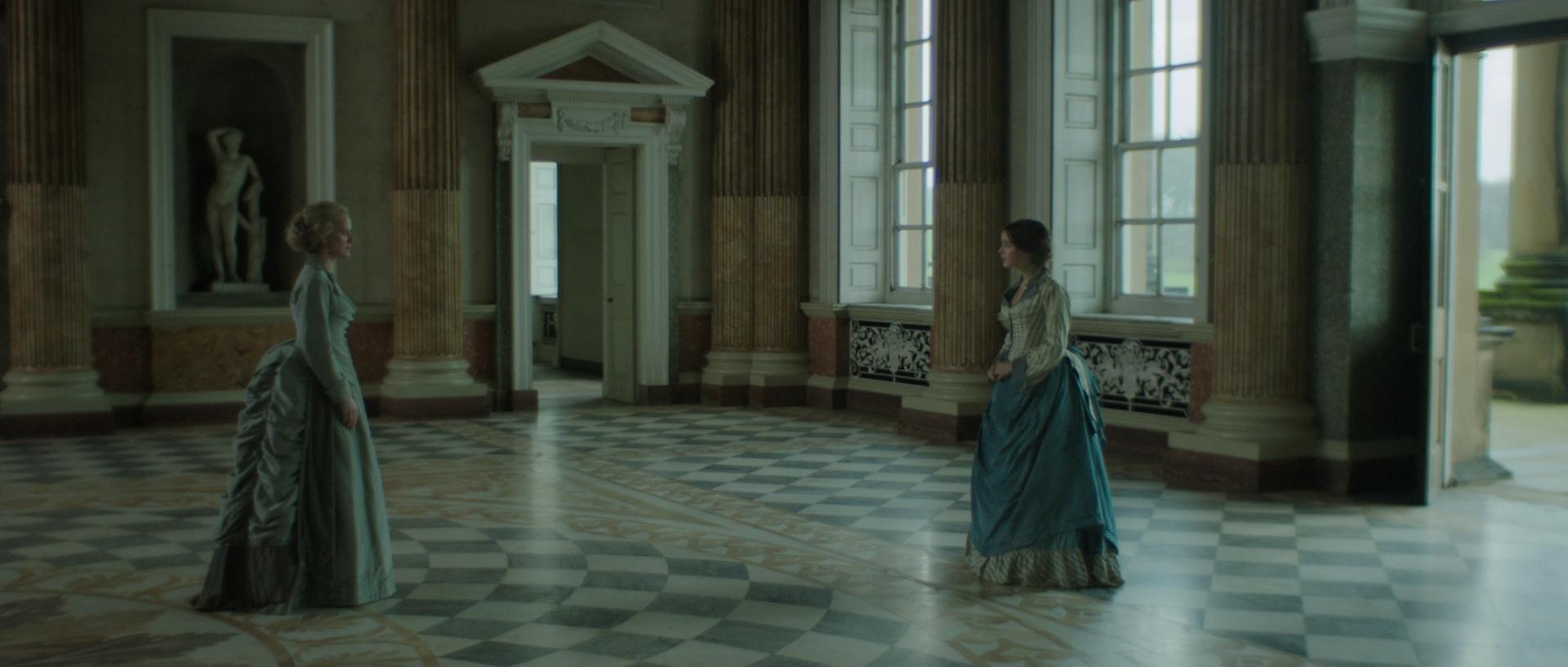 Still 3: Lady Kentworth (Hermione Norris) and Vanessa (Celine Buckens)