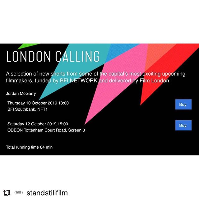 My short I directed at #LFF ... tickets now on sale!  #Repost @standstillfilm with @make_repost ・・・ Tickets have gone on sale!!! (link in bio) World premiere of @standstillfilm at @britishfilminstitute London Film Festival will be on #WorldMentalHealthDay2019 (October 10th 2019) in NFT1 on BFI Southbank 6pm (link in bio). And also on 12th October 3pm at Odeon Tottenham Court Road. We're incredibly proud of this film, for its story and important message about maternal mental health, and its narrative and cinematic punch. We had an amazing team behind the film, both creatively and emotionally and couldn't have got here without your help. @isabellawingdavey_ (Director) @michelle_bonnard and @zoetapperofficial (Writers/Actors) and @sarahbeardsall (Producer) as well as some cast and crew will be at both screenings so we hope to see you there! #worldpremiere #officialselection #standstillfilm #standstillfilm_ #maternalmentalhealthday #pnd #postnataldepression #womeninfilm #LFF @cinesisterslondon @itg_ltd #womendirect #womenwrite