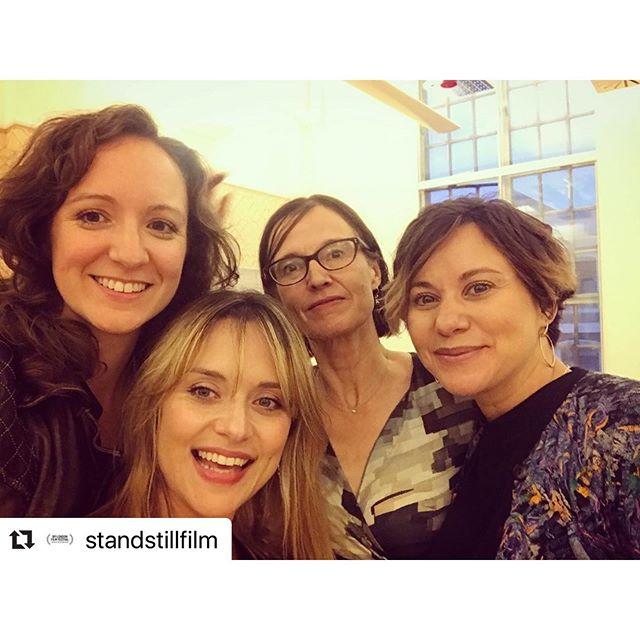 #Repost @standstillfilm with @make_repost ・・・ Team 'Stand Still' celebrating with our fellow filmmakers and @film_london @bfinetwork Film Fund Event last week  #standstill #shortfilm #earlydevelopmentfund #londoncalling #womeninfilm @standstillfilm @michelle_bonnard @sarahbeardsall @isabellawingdavey_