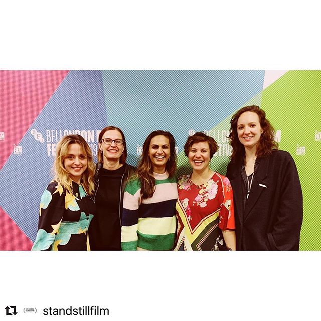 Great night premiering the short film I directed ( @standstillfilm ) to a packed 500 seat audience in one of my favorite cinemas in london (NFT1 at BFI). Thanks to everyone involved with making and supporting this film and particular shout out to my incredible DP @ashleybarrondop and Editor #KarenjitSahota who were such fantastic collaborators and were able to be there last night to see it on the big screen. Goes without saying so many people helped bring this to life, from a wonderful script and performances from @zoetapperofficial and @michelle_bonnard . Much love to you all xx (screening Saturday too!) #DirectorGushingMoment  #Repost @standstillfilm with @make_repost ・・・ Thanks to everyone who came out for the world premiere of @standstillfilm last night. It was incredible to share our film with a sold out audience at LFF and screen with some awesome other short filmmakers as part of #LondonCalling:  @dabramskyfilm @rosiewesthoff #NaomiSoneyeThomas @nosaferatu #ChristopherHaydon- it was wonderful to have @standstillfilm cast and crew and supporters and strangers there together watching the film. Thanks to @film_london @bfinetwork @britishfilminstitute and #LFF for an amazing premiere. And it meant a lot to have @onefitmamauk and @mums_aid there- our charity partners already talking about the issues raised in the film.  Next screening is Saturday (tomorrow) ! Get in touch if you want to come... we have a few extra tickets to this sold out screening!  Dir: @isabellawingdavey_ Scr-Cast: @michelle_bonnard @zoetapperofficial Producer: @Sarahbeardsall Director of Photography: @ashleybarrondop  Editor: Karenjit Sahota Original Music: @hugobrijs  Sound Design: @aniaadventure  Prod Design: @luciered  Costume Design: @espinerdesign HMU: @bethanyswanmakeup Cast: @georgiou1978 @pessiedu #MiquelBrown  @__________slickfilms @rebcharris @envypost @movingpicturecompany @matthieu.toullet @gabi__wood @misspalamara  #FemaleFilmmakerFriday #standstillfilm #standstillfilm_ #filmmaker