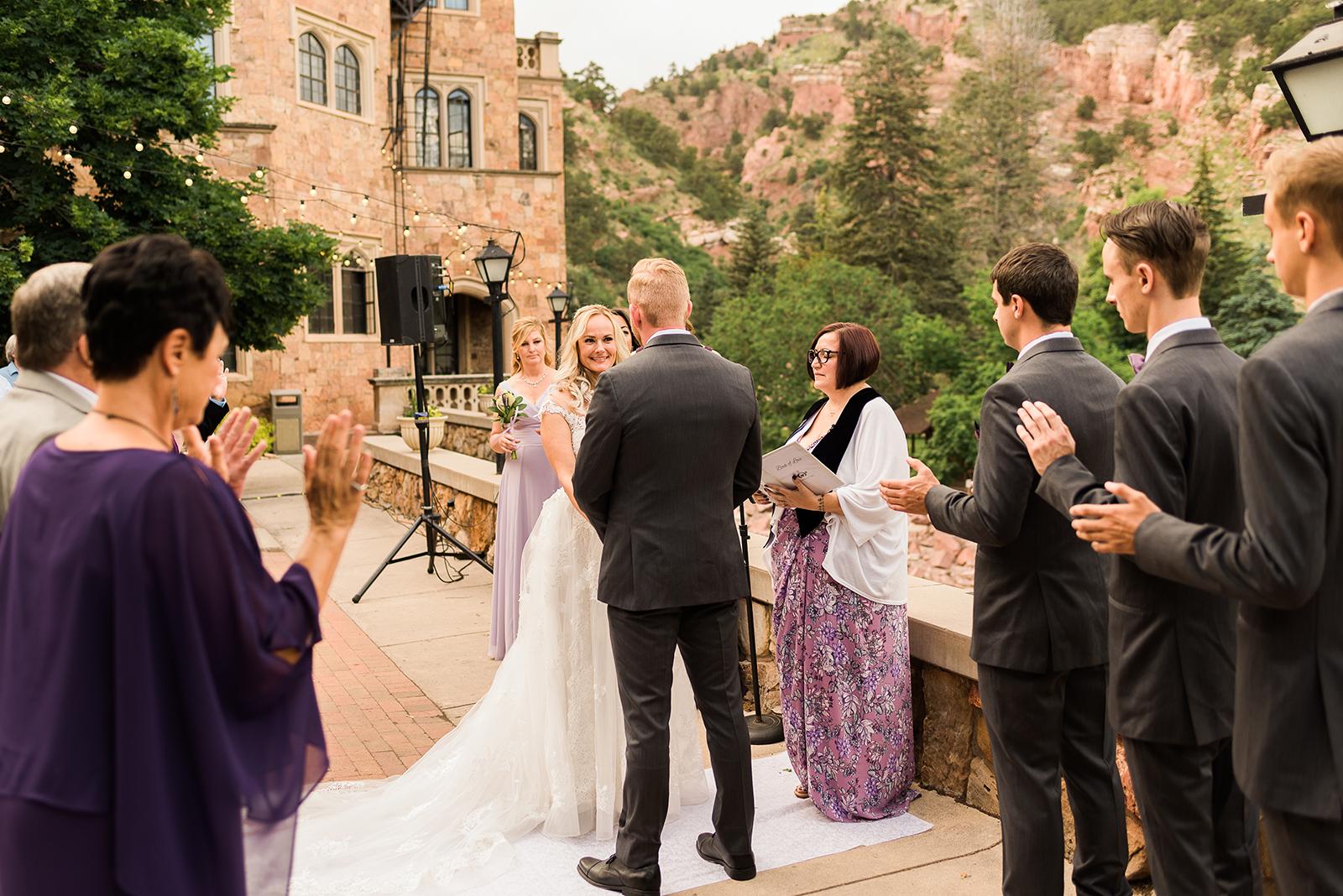 Glen Eyrie Castle Wedding