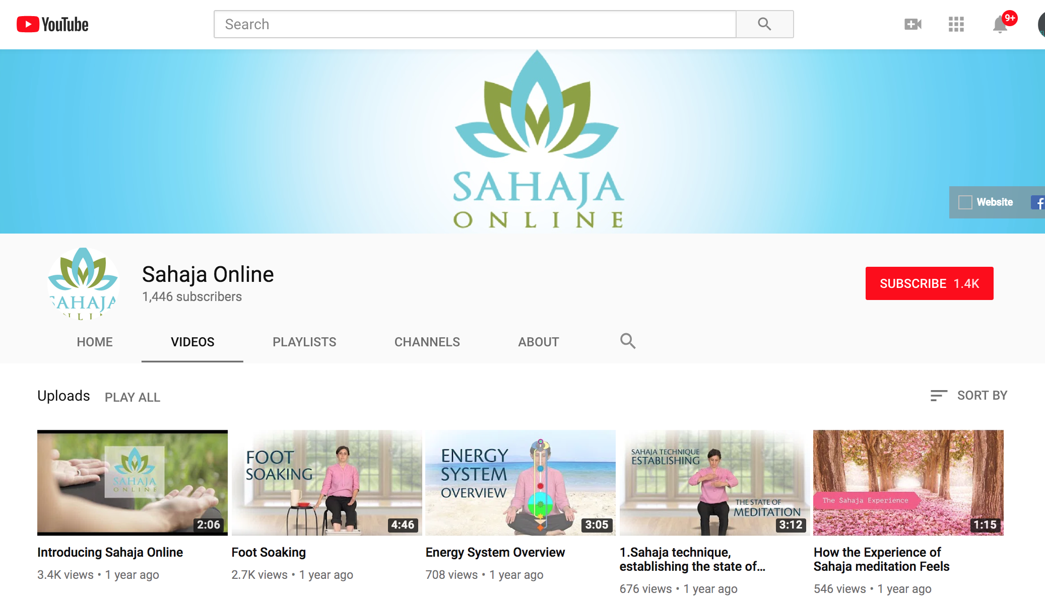Sahaja Online - Channel Setup & Design   * YouTube Channel Setup / Strategy   * Thumbnail Design Creations   * Weekly Video Uploads   * Sharing on Facebook / Instagram / Pinterest