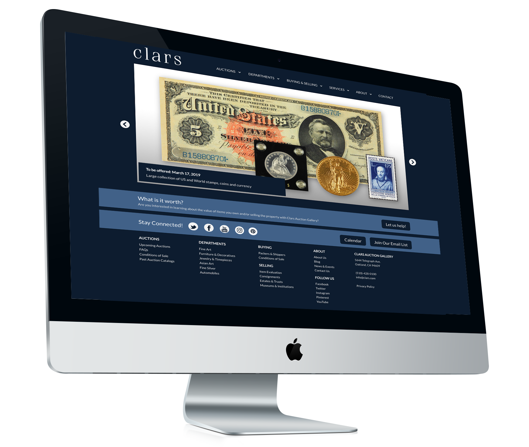 Clars - Web & UI Design | Art Direction