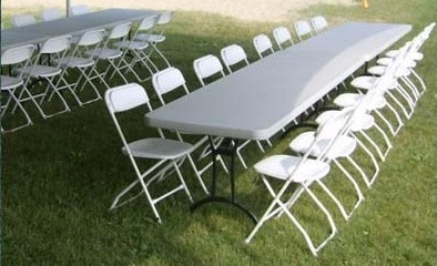 Tables & Chairs : $200